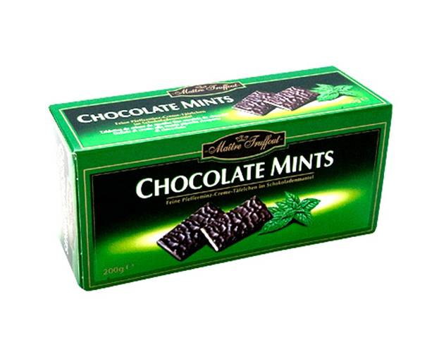 Chocolate Mints Maitre Truffout 200 Grs